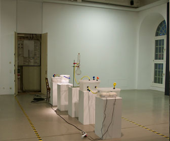 Diamond-Breathing-Machine, exhibition view, 2011 Friedericianum, Kassel.